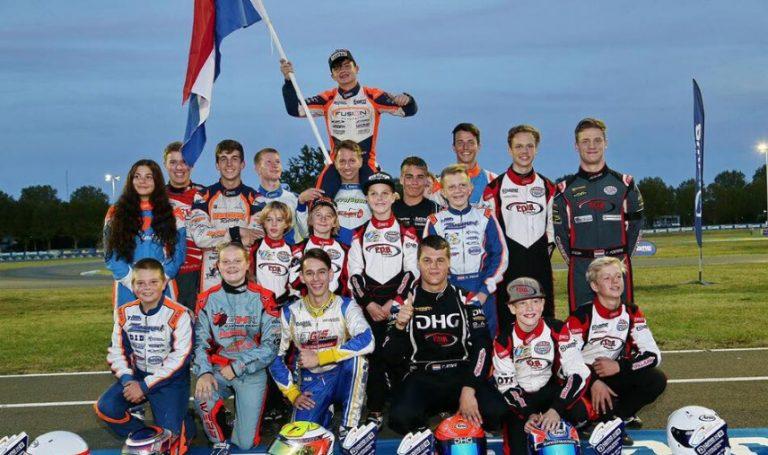 dhg racing karting Rowan Grinwis