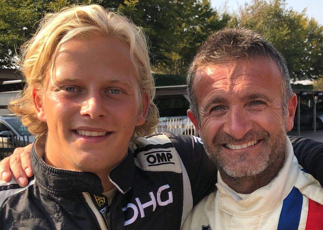 olivier hart dhg racing goodwood revival 2019