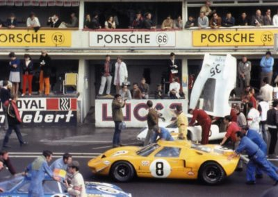 DHR Racing Ford GT40 P1079 6-Lemans 1968