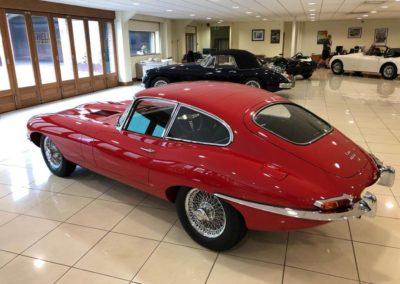 Jaguar E Type FHC 3